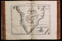 Tabula noua partis Africae [Southern Africa]